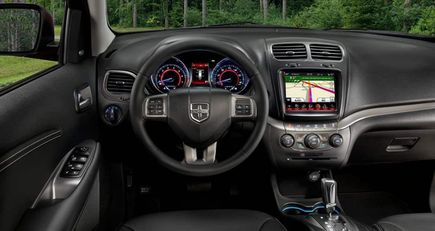 Interior of the 2019 Dodge Journey