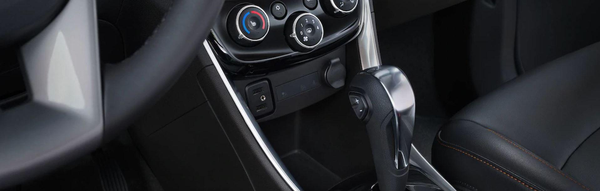 2019 Chevrolet Trax Interior Detailing