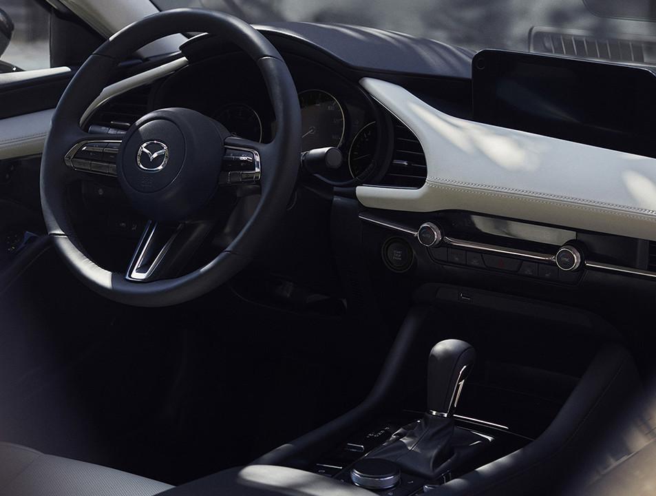 2019 Mazda3 Sedan Center Stack