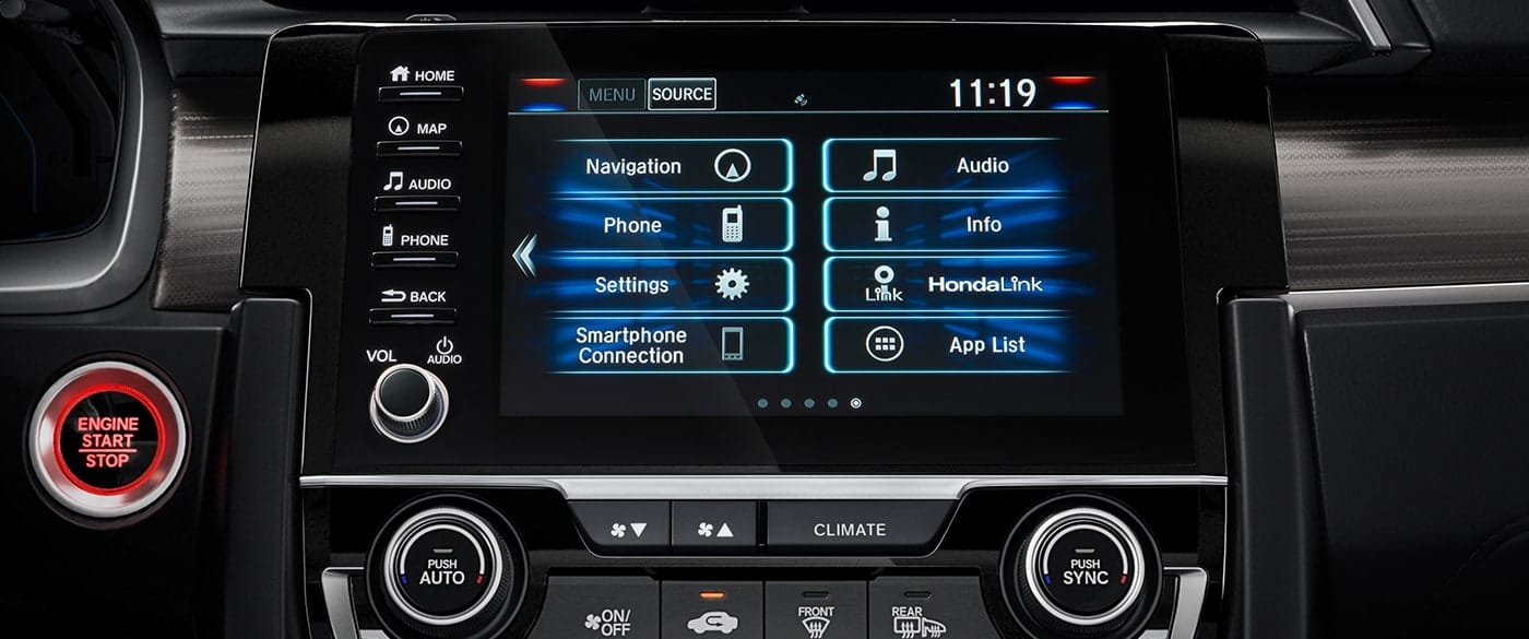 Tech Features in the 2019 Civic