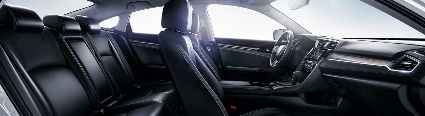 Spacious Cabin of the 2019 Honda Civic