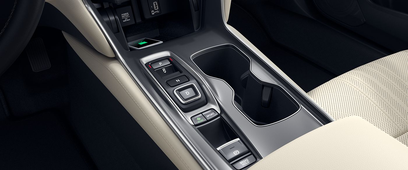 Driving Controls in the 2019 Accord