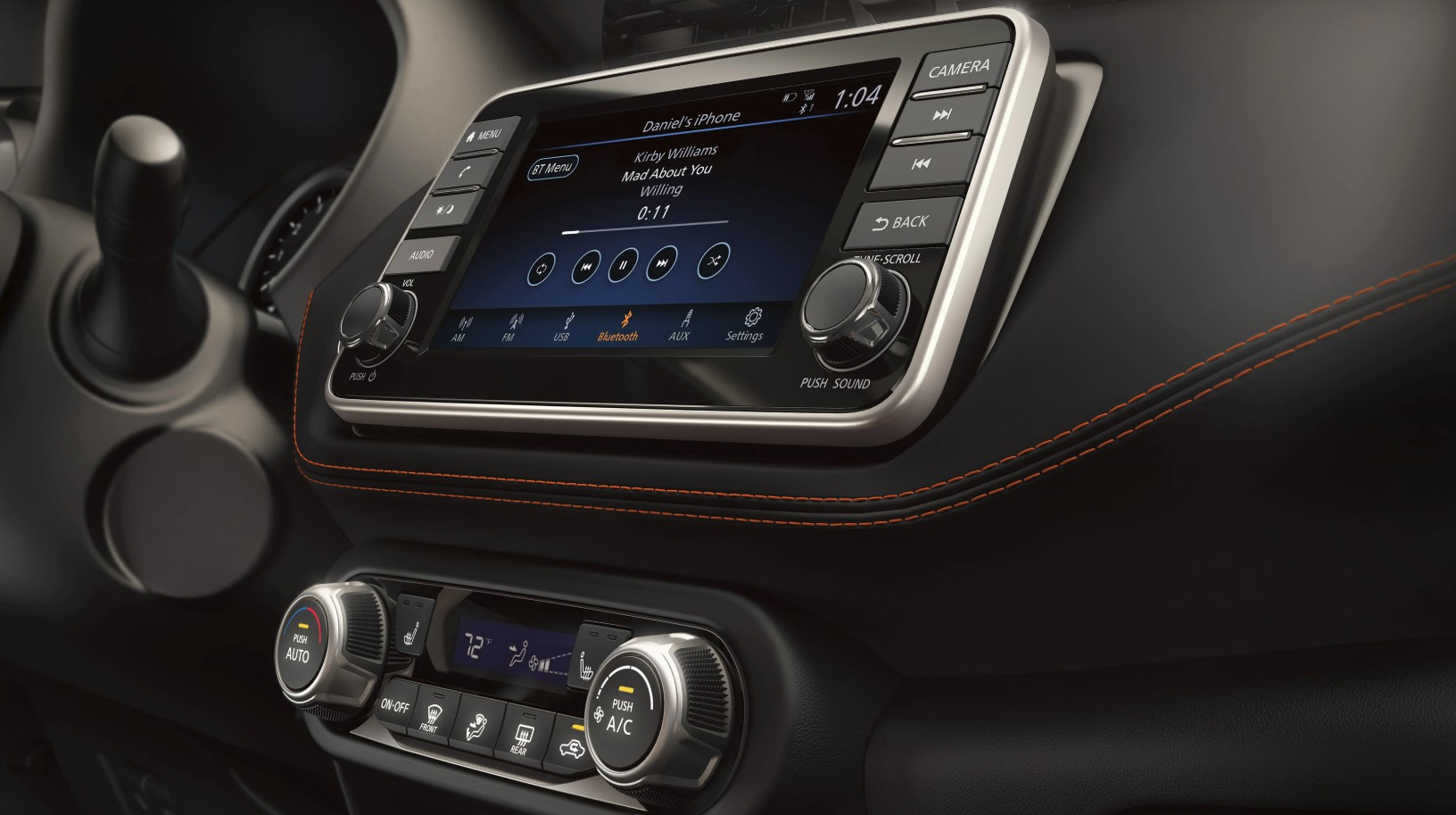 2019 Kicks Infotainment System