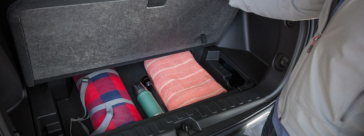 Handy Storage in the 2019 Equinox