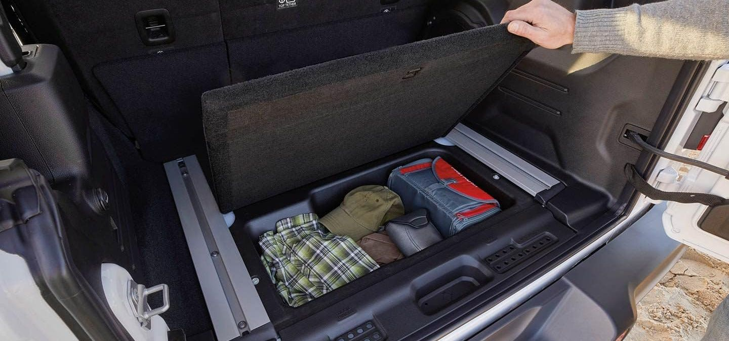 2019 Jeep Wrangler Unlimited Cargo Area