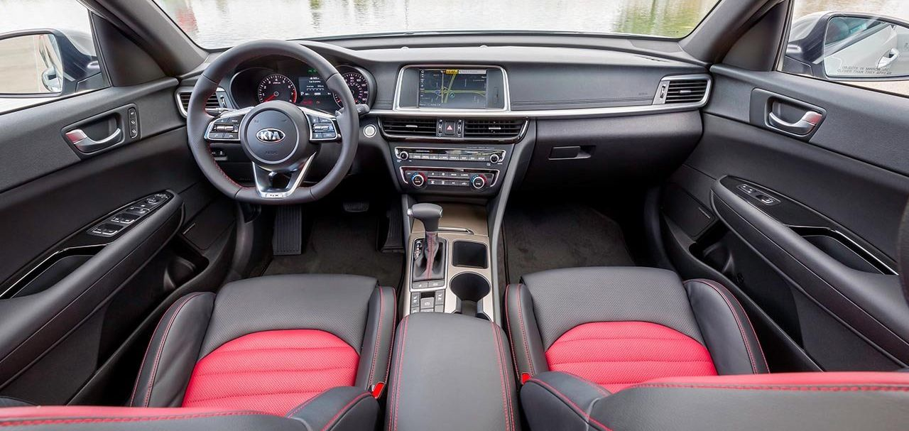 The Sporty Interior of the Optima