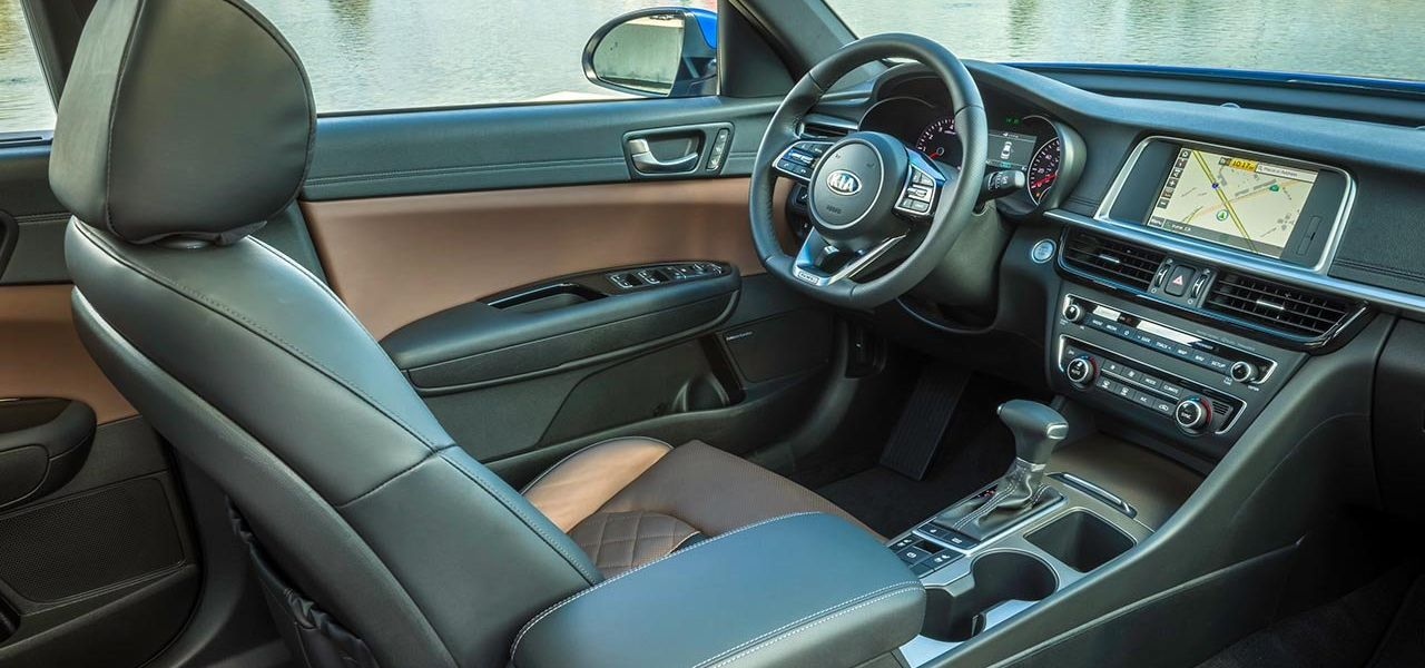 2019 Kia Optima Interior