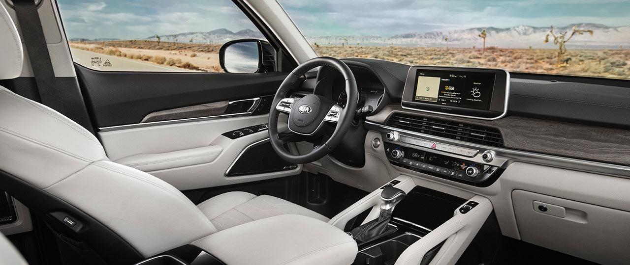 2020 Telluride Cockpit