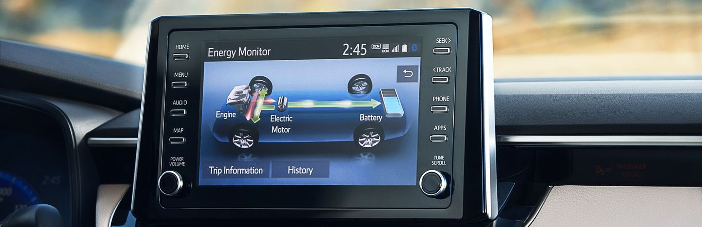 Touchscreen Display in the 2020 Corolla