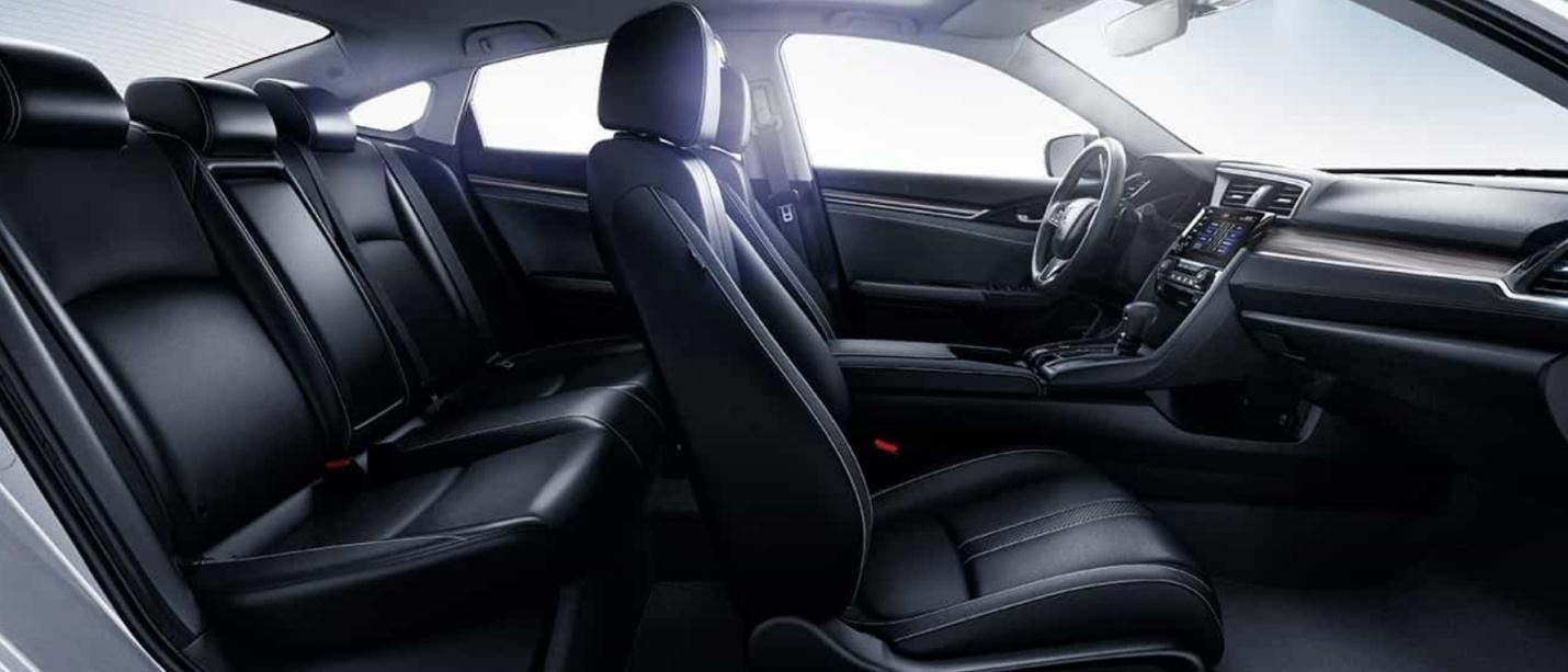 Descubre un nuevo nivel de confort a bordo del Honda Civic 2019.