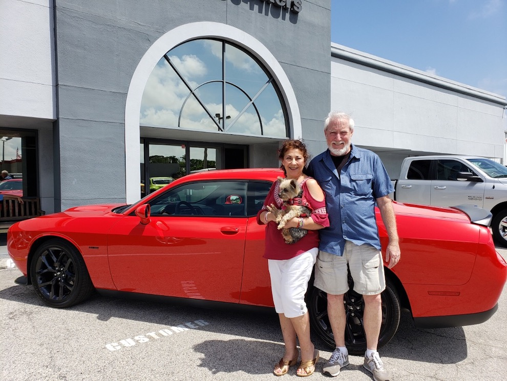 2019 Helping Seniors Car Raffle Winner