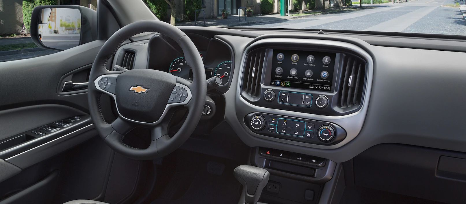 2019 Chevrolet Colorado Dashboard