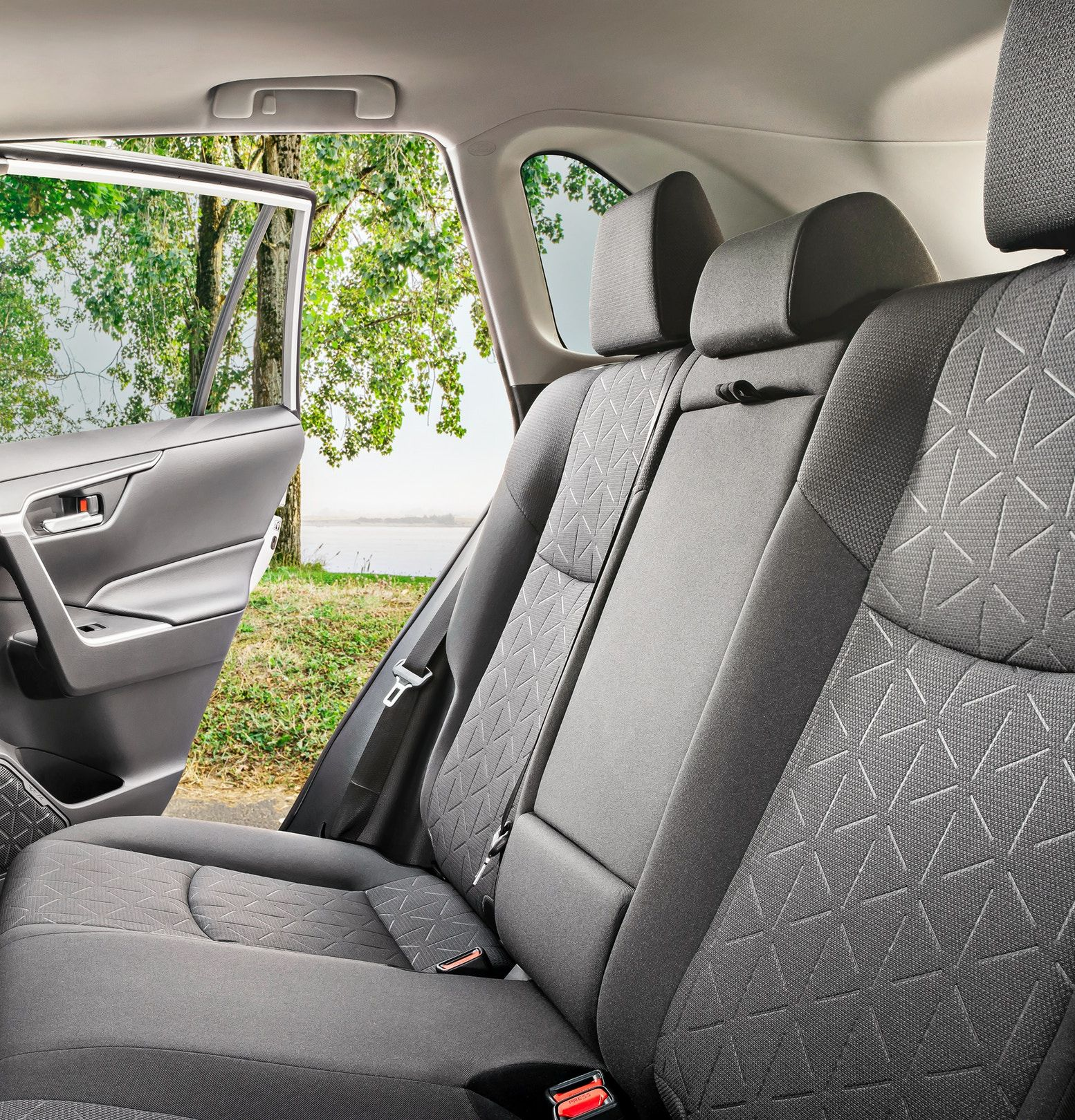 2019 Toyota RAV4 Second-Row Seating