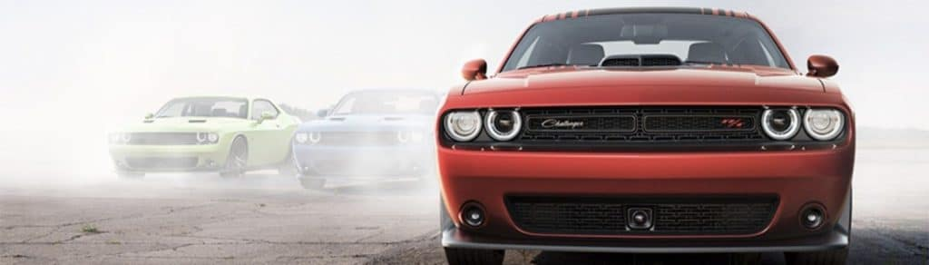 THE 2018 DODGE CHALLENGER VS. THE 2018 FORD MUSTANG