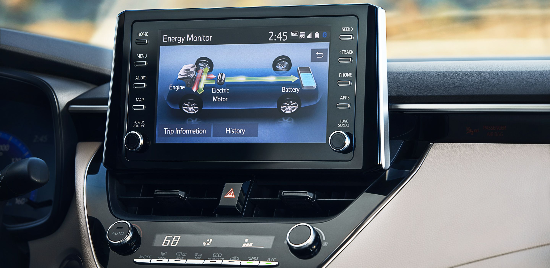 Corolla Hybrid Energy Monitor