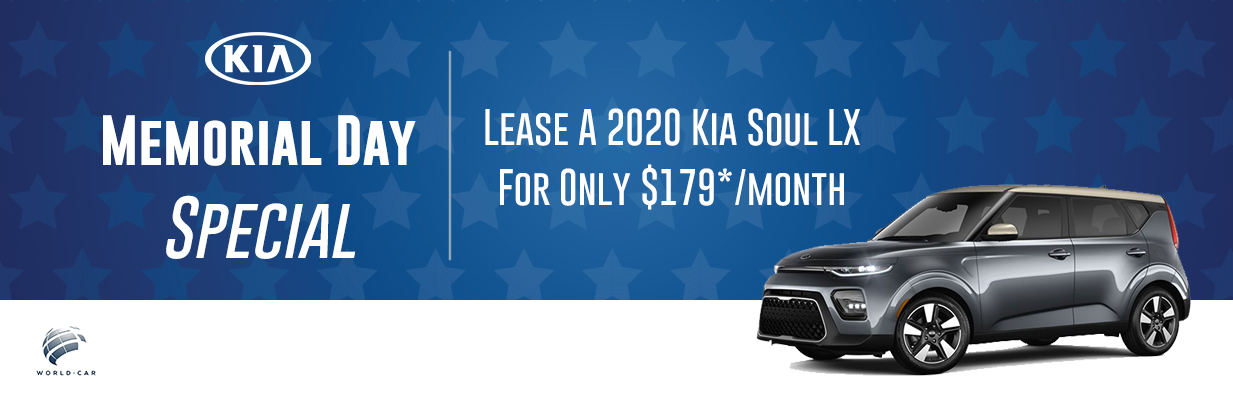 Kia Lease Specials >> 2020 Kia Soul Lx Memorial Day Lease Special