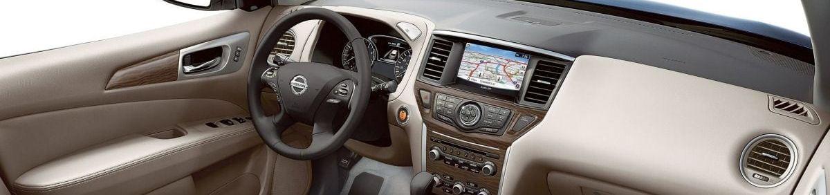 2019 Nissan Pathfinder Center Stack