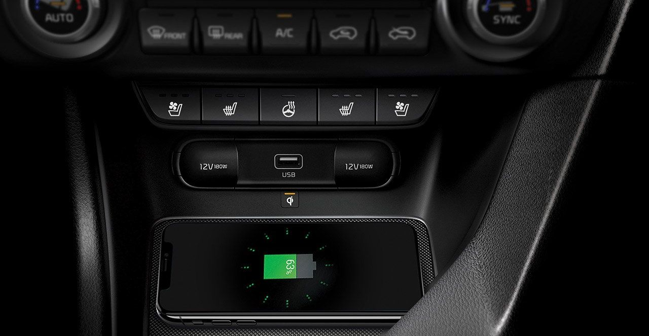 2020 Kia Sportage Tech Features