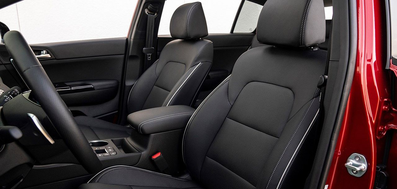 Supple Seating in the Sportage