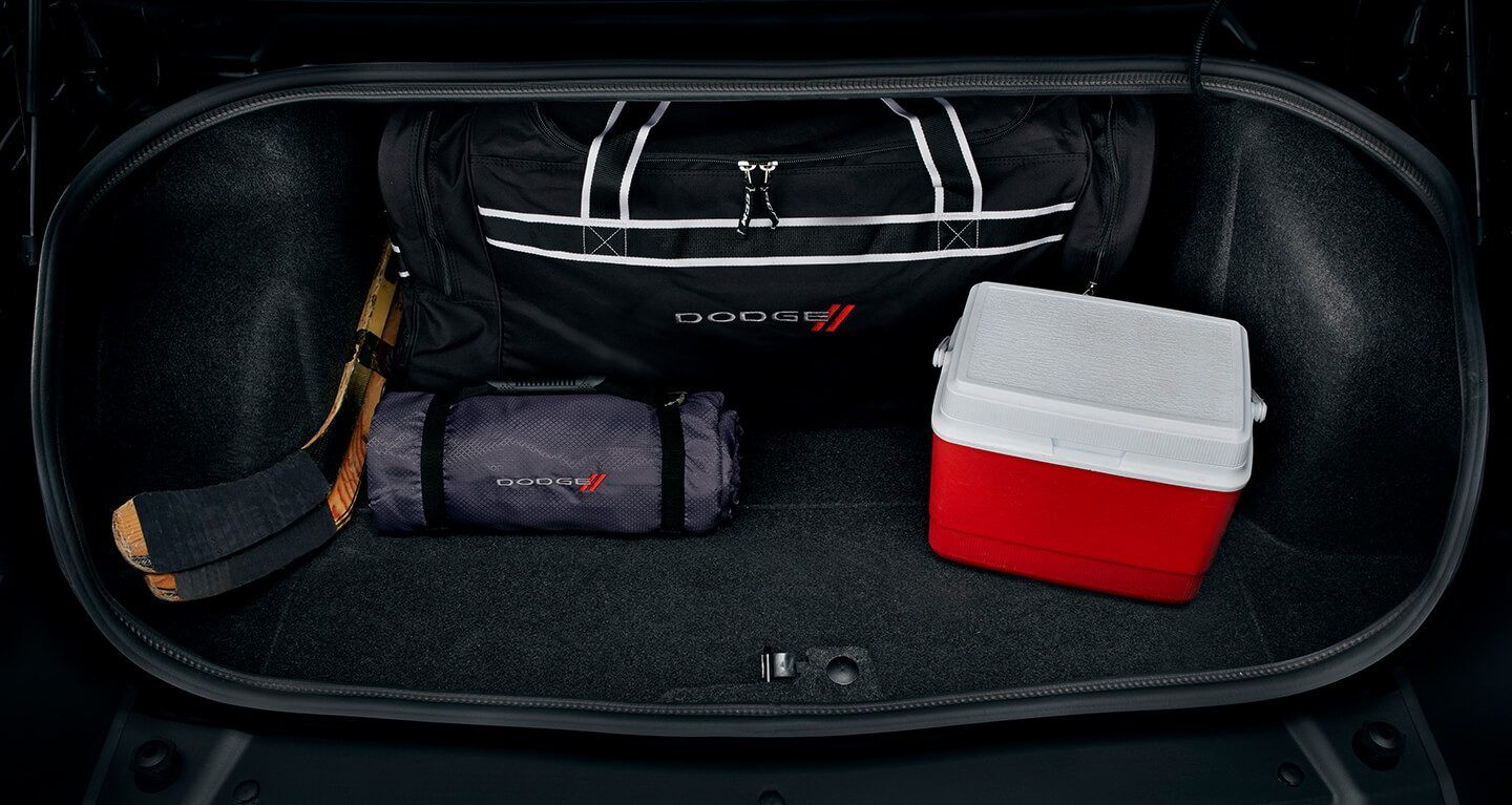The Challenger's Spacious Cargo Area