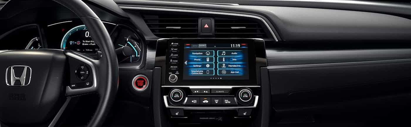 High-Tech Features in the Civic's Dashboard