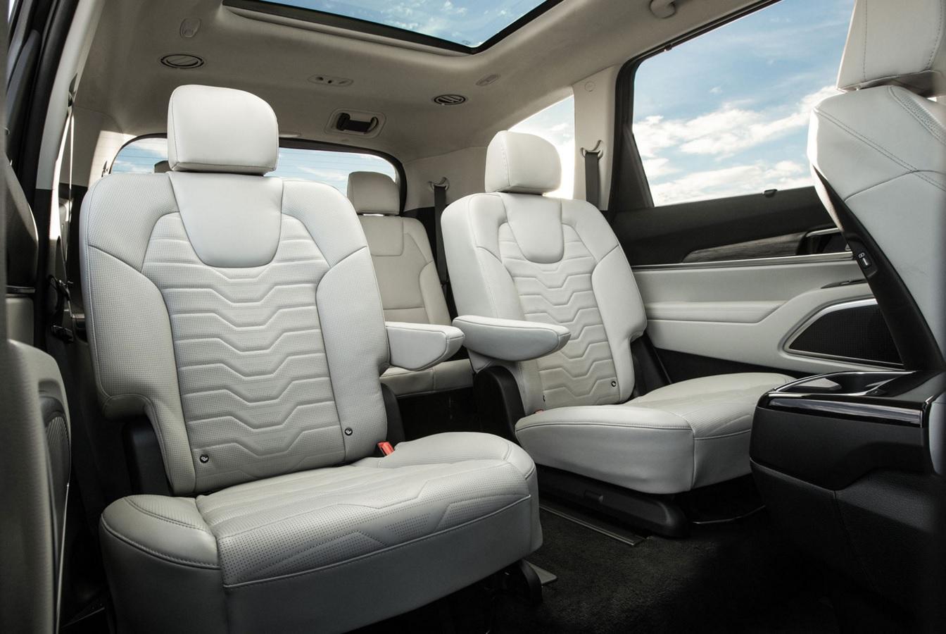 2020 Telluride Rear Seats
