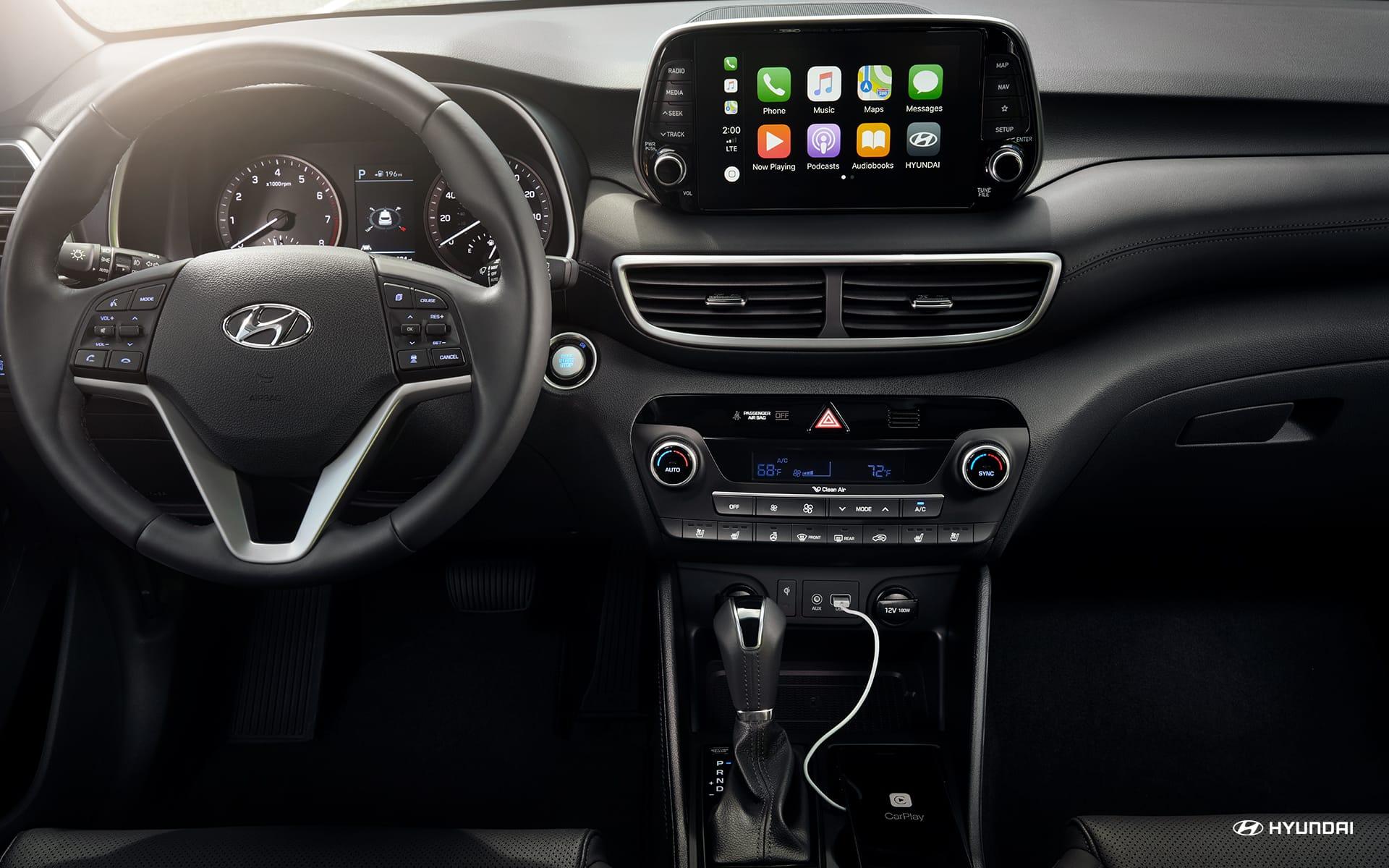 Apple CarPlay™ in the 2019 Hyundai Tucson