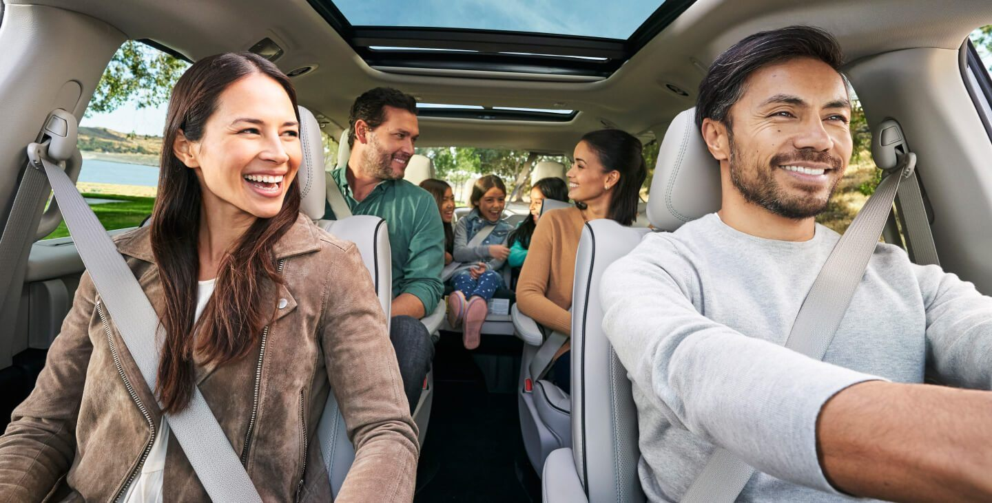 The Pacifica was Made for the Entire Family!