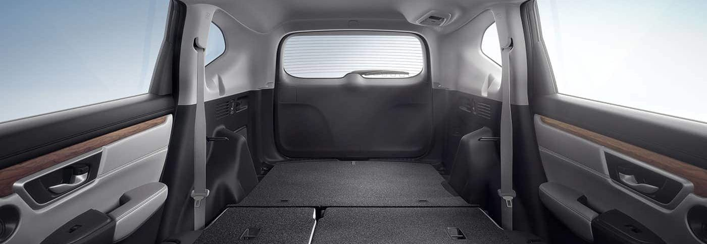 The Spacious Cargo Area of the CR-V