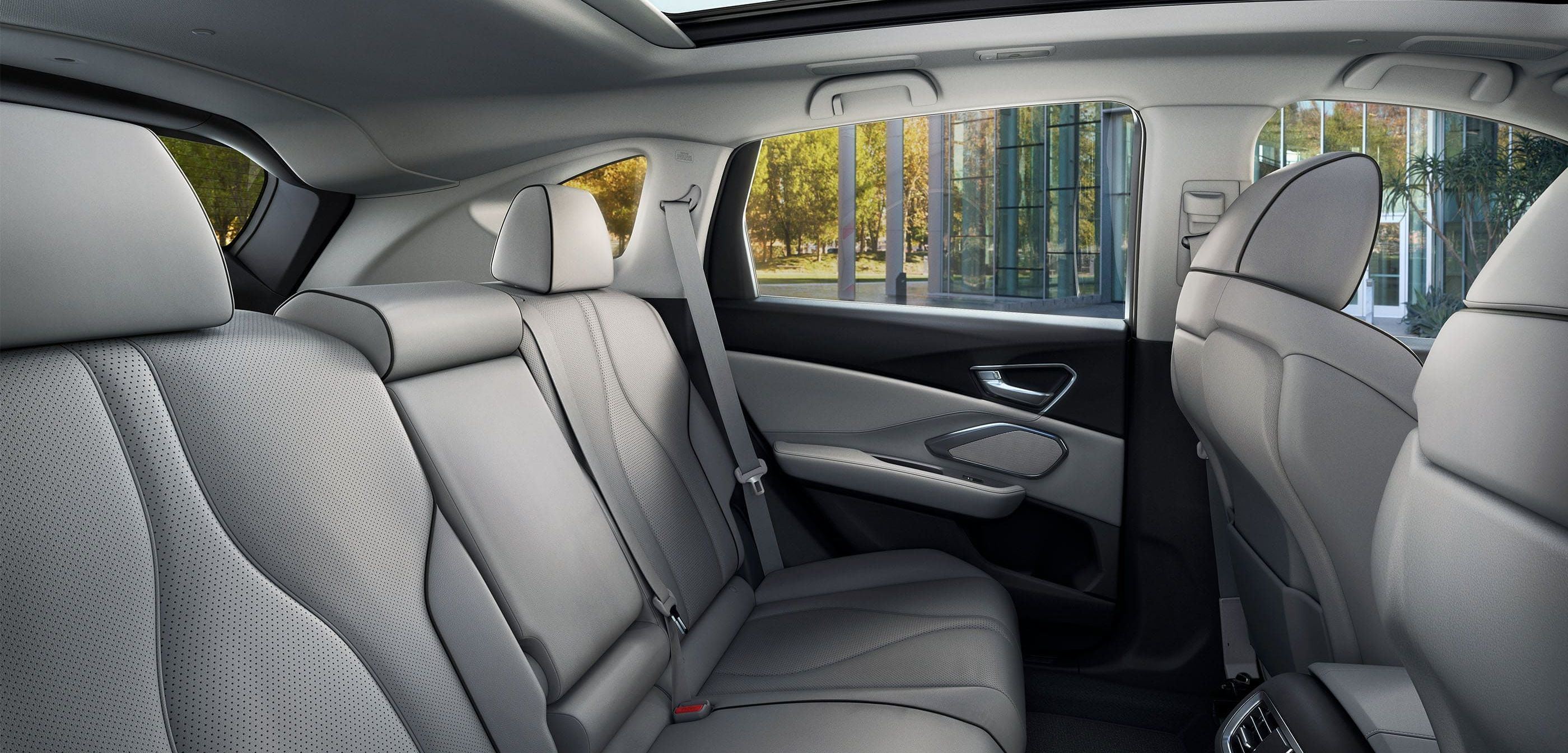 Rear Seating in the 2020 Acura RDX