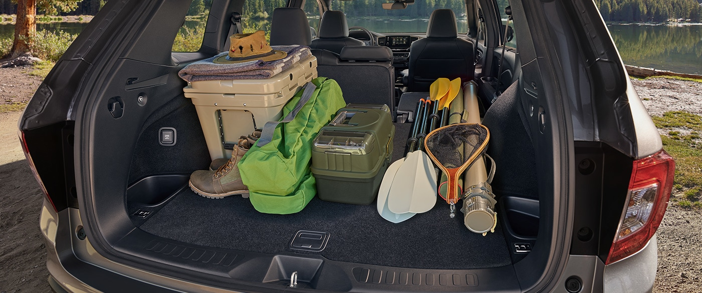 There's a Place for Everything in the 2019 Honda Passport!