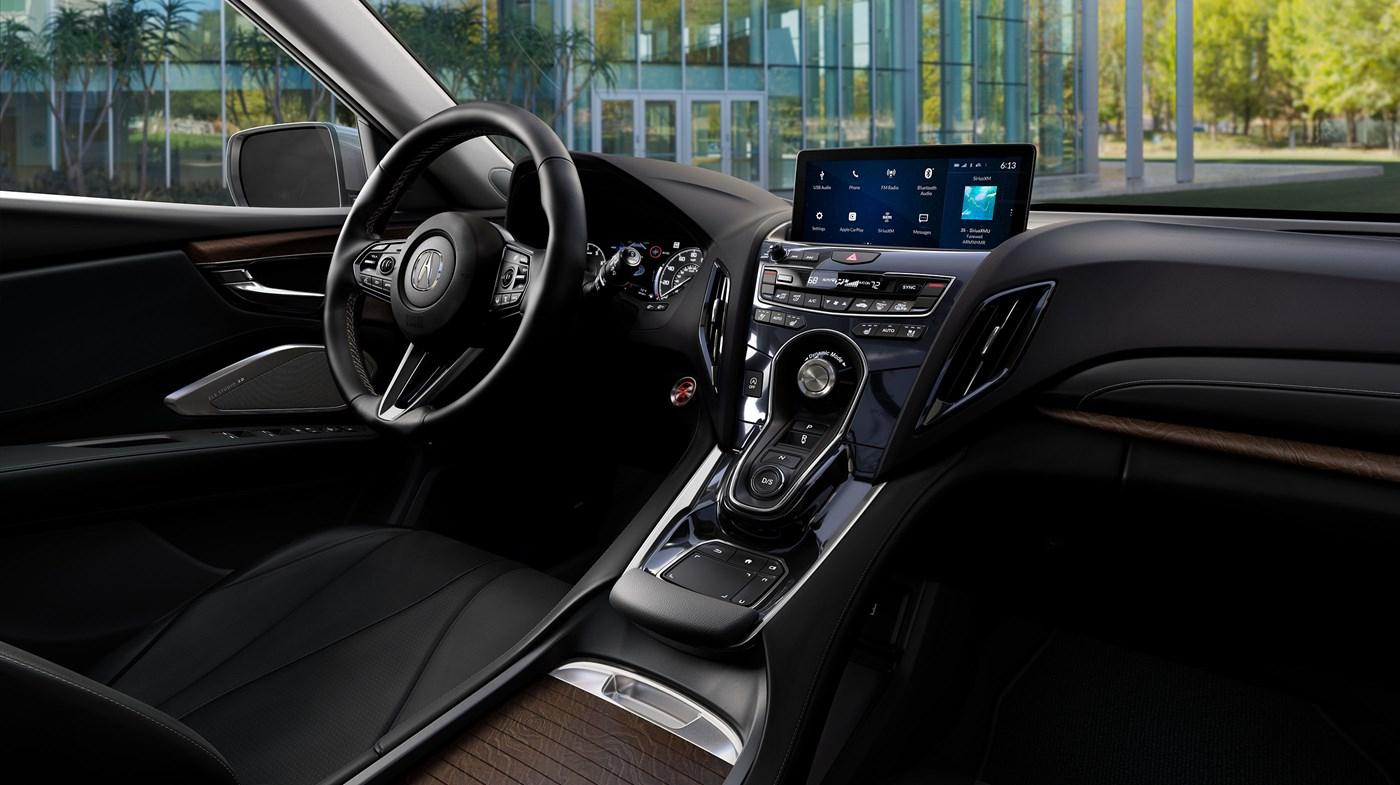 Interior of the 2019 Acura RDX