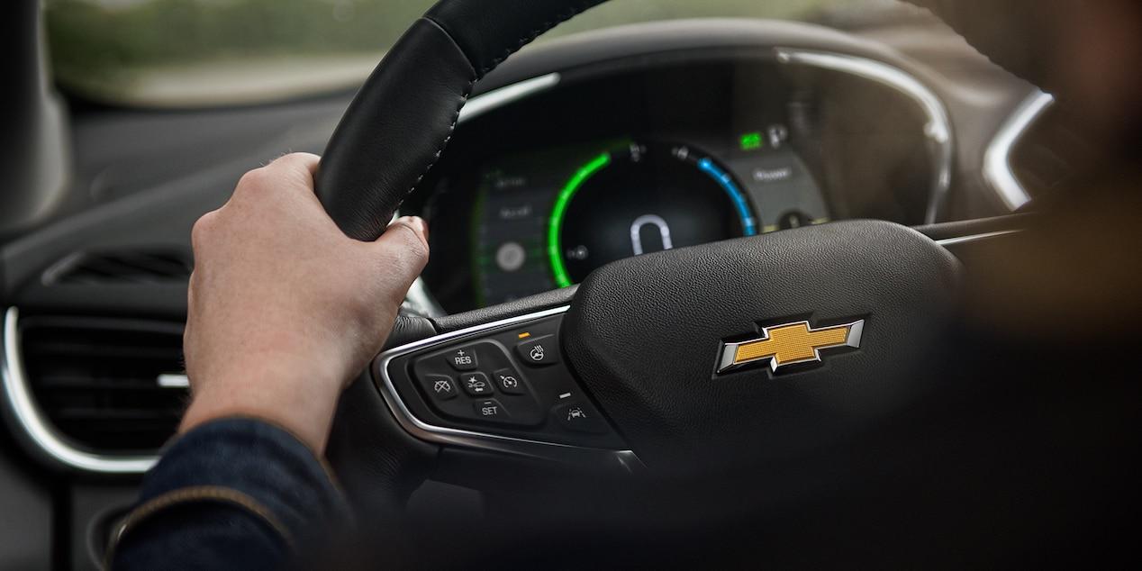 Steering Wheel of the 2019 Chevrolet Volt