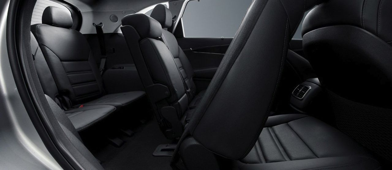 The Sorento's Versatile Seating
