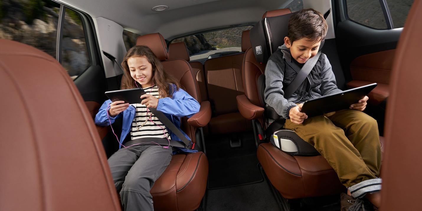 Protege a tus hijos con toda la tecnología que la Traverse pone a disposición de tu seguridad y la de los tuyos.
