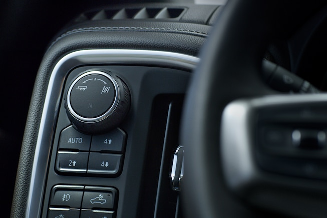 Controls at Your Fingertips in the 2019 Silverado 1500