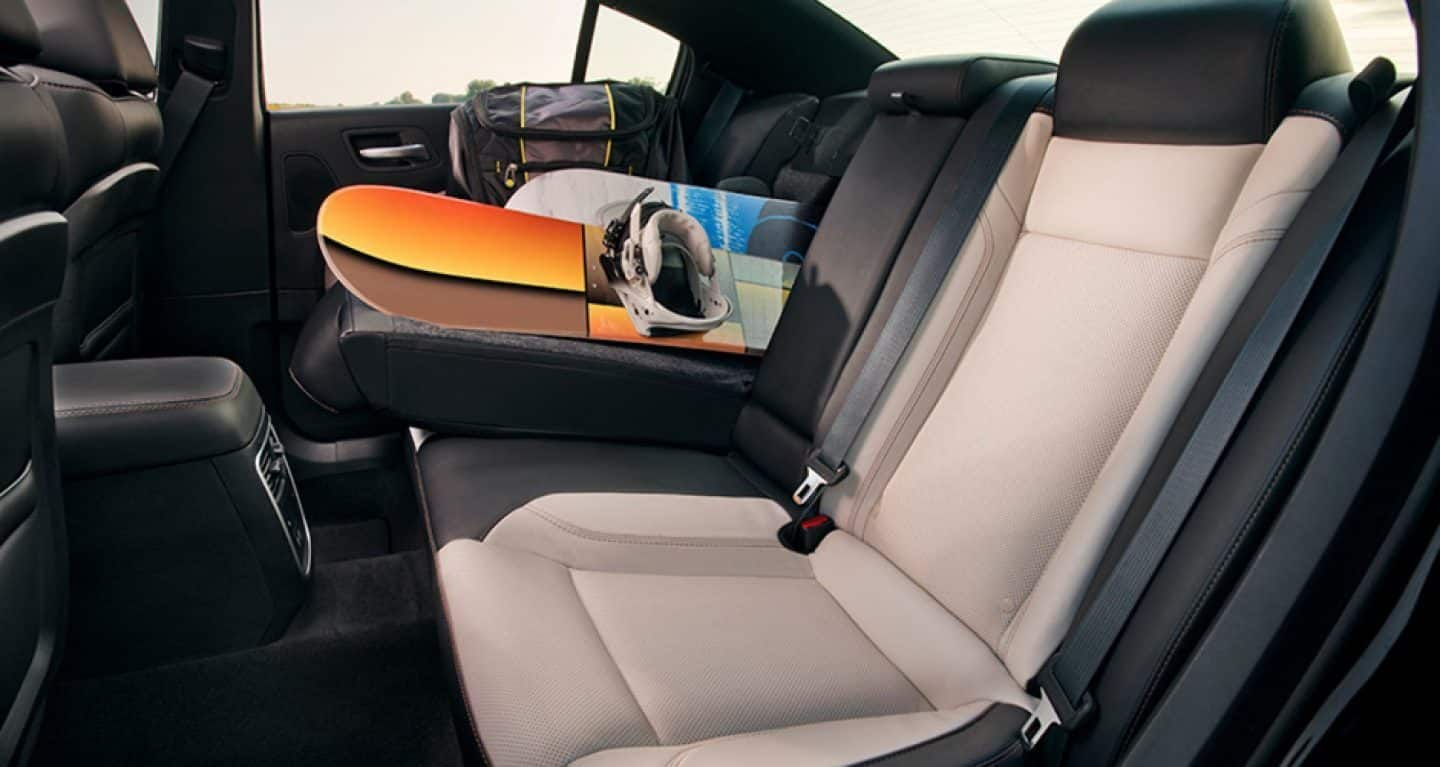 Spacious Cabin of the Dodge Charger