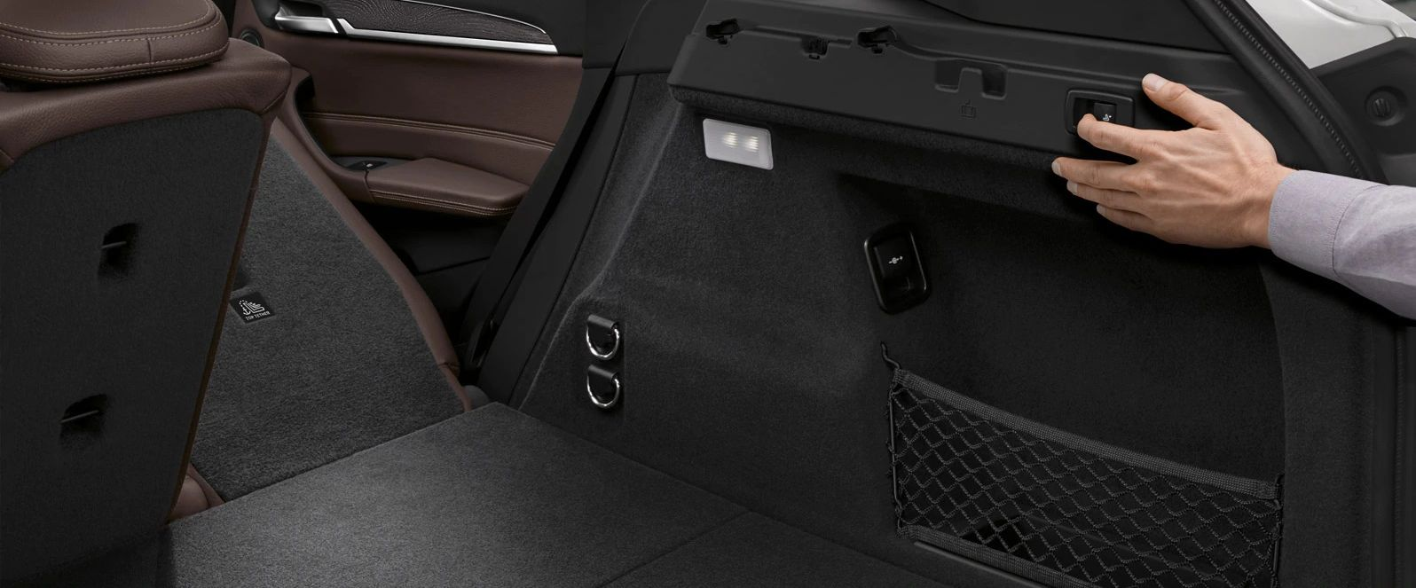 Spacious Cargo Area in the 2019 X1