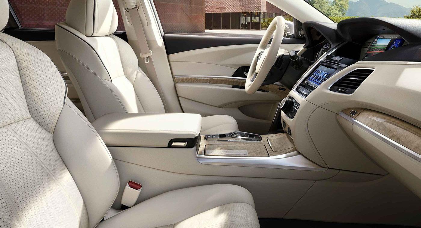 Spacious Interior of the 2019 Acura RLX