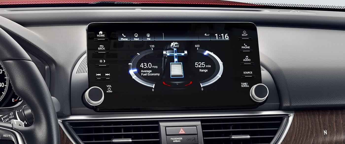 2019 Honda Accord Center Stack