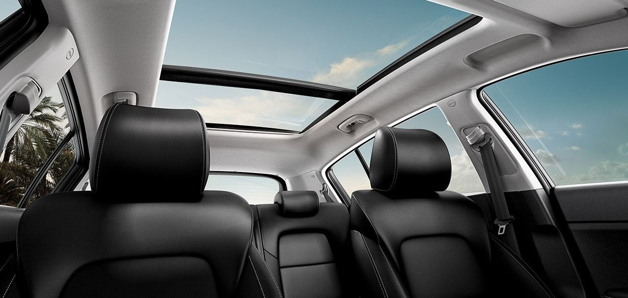 The Relaxing Interior of the 2020 Kia Sportage