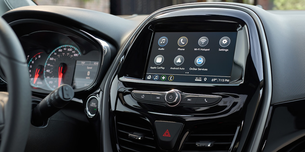 Touchscreen Display in the 2019 Spark