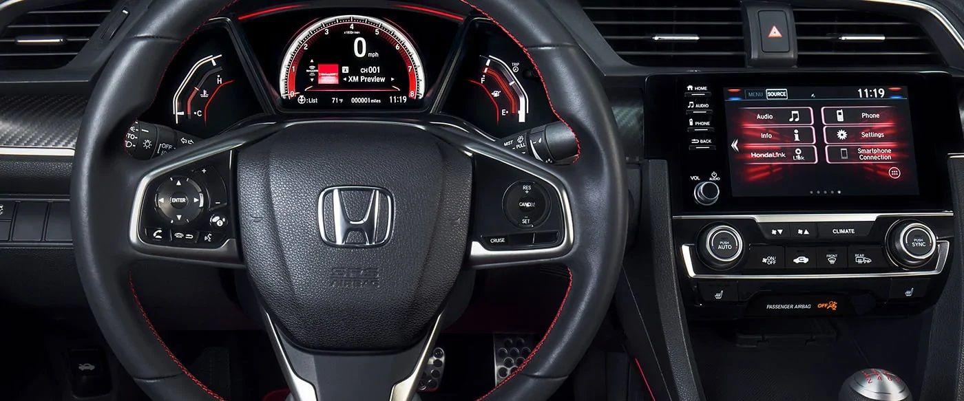 2019 Honda Civic Cockpit