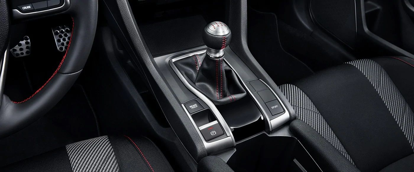 2019 Civic Gearshift