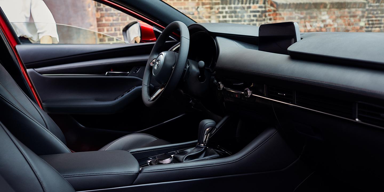 Interior of the 2019 Mazda3 Hatchback