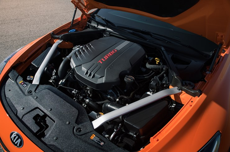 2020 Stinger GTS Engine