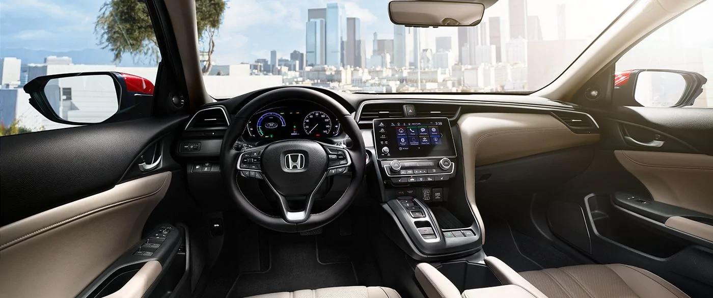 Elegante cabina del Honda Insight 2019