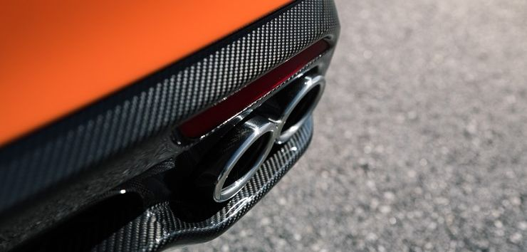 Rear Exhaust of the 2020 Kia Stinger GTS