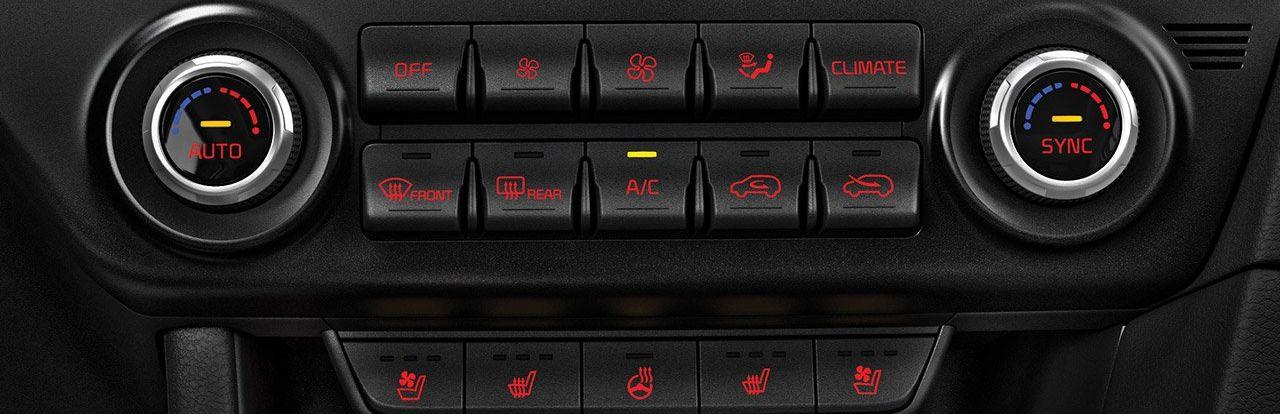 Climate Control in the 2020 Kia Sportage