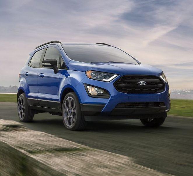 2019 Ford EcoSport Leasing near Dallas, TX